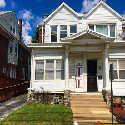 Delaware County foreclosures – 406 E 20th St, Chester, PA 19013
